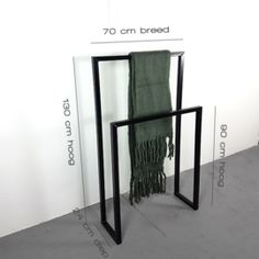 Kledingrek Twin Steel Two Entry Door Hardware, Bathroom Towel Hooks, Modern Shelving, Modern Bathroom Design, House Rooms, Room Decor Bedroom, Home Accessories, Furniture Design, Interior Design
