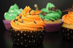 Halloween Cookie Dough Cupcakes2