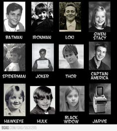 EVERYONE IS SO LITTLE AHHH (yes there is some DC nation in here, but it's mostly Marvel)