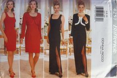 Butterick 4257 Misses' Jacket and Dress