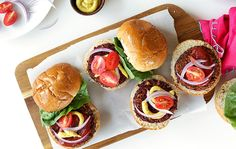 When it comes to burgers, weve each had our fair share of standard beef patties. Mix up your summer barbecue with healthier options that are as delicious as they are inventive. We rounded up our top 10 favorite recipes, from a vegetarian smoky black bean beet burger to a spicy Jamaican jerk version. Each one is a guaranteed crowd-pleaser and a cinch to make.