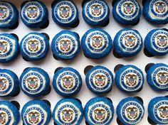 navy cupcakes | Navy cupcakes | Flickr - Photo Sharing!