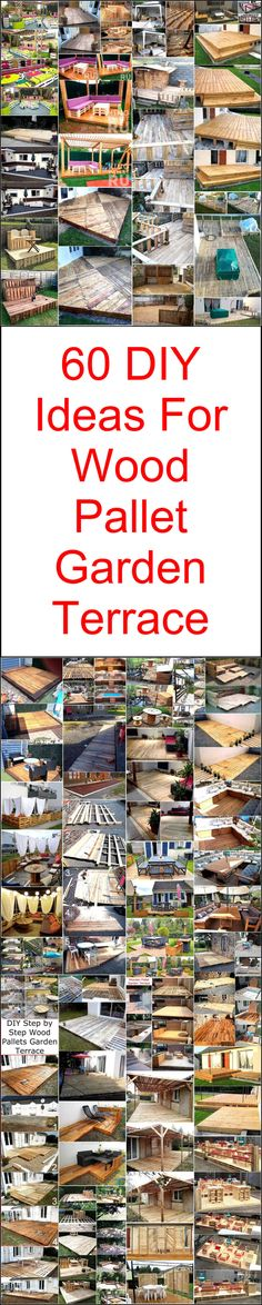 Now you can give your outdoor, garden, terrace, backyard and front yard a royal look by crafting one of these awesome garden terrace ideas. These pallet garden terraces are beautifully enough to provide you a stunning and comfortable seating area in outdoor places of your home. So simply reshape the useless wooden pallets of your place to amaze everyone with your fascinating creativity.