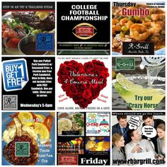 RBar & Grill – Dine and Play LOCALLY!  Please tell our friends at RBar that www.WeAreMarbleFalls.com sent you! RBar & Grill,   904 3rd Street, Marble Falls  830.693.2622