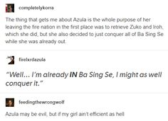 For real though azula took over Ba Sing Se in about 3 days, wtf Avatar The Last Airbender Funny, Avatar Airbender, Avatar Aang, Satire, Dislike, Atla Memes, Avatar Series, Iroh, Azula