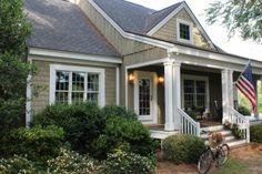 House Colors/Shingles/Board and Batten: Pelham Gray