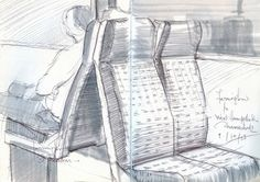 Urban Sketchers: Recent Sketches of Londoners on Public Transport