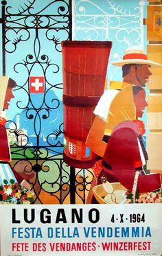 Lugano   Festa Della Vendemmia  Fete Des Vendanges  Winzerfest  (Grape Harvest Festival)
