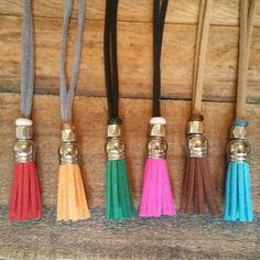 Free Spirit suede tassel necklace - @boho&arrow on Facebook to order