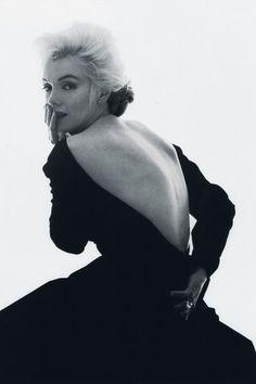 """The Last Sitting"". Marilyn Monroe in Dior"