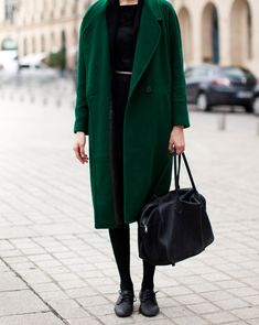 That is my favourite shade of green #coat