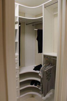 CLOSET corner shelf unit - Google Search