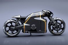 Lotus Motorcycles C-01 going to run my errands with this puppy