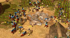 """Sayyafs in action The Sayyaf (Arab for """"Swordsman"""") is a quick Arab unit with hand armor and a striking melee attack. and protect your people catiously . Action Images, Age Of Empires, Camel, Concept, Asian, Artwork, People, Animals, Work Of Art"""