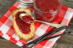 Super Healthy Maple Raspberry Jam {with Chia}