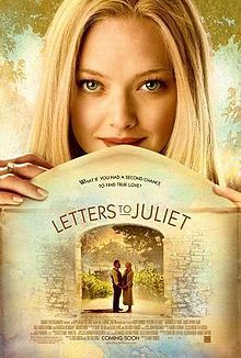 Poster for the movie Letters to Juliet starring Amanda Seyfried. Letters to Juliet movie poster starring Amanda Seyfried. See Movie, Movie List, Movie Tv, Movie Shelf, Song List, Movies Showing, Movies And Tv Shows, Juliet Movie, Disney Films
