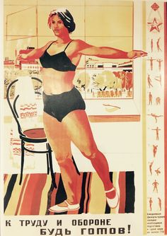 10 Smart Ways to GET FIT According to Soviet Union Sport Ministry in 1934 | Smart Life Ideas