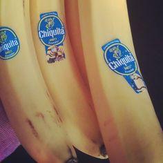 "because the minions persuaded me *-* lol ""ba-ba-ba-ba-ba-nana"" #Chiquita #banana #minions #meh"
