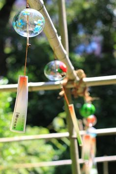 Feeling sad to see summer go.  Time to put away the wind chimes and prepare for Autumn.