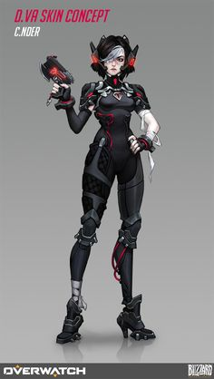 (By Olga Khariton) Girls Characters, Fantasy Characters, Female Characters, Anime Characters, Female Character Design, Character Concept, Character Art, Concept Art, Overwatch Drawings