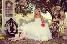 Who wouldn't love to shoot an Allison in Wonderland Wedding?!?!