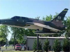 63-8261 F105F Status: On Display at Jacksonville Museum Of Military History, Jacksonville, AR
