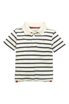 1e34aa53a4 H M - Striped polo shirt £6.99 Striped Polo Shirt