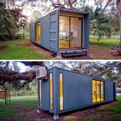 The hab tiny container home shipping container pool, shipping container c. Cargo Container Homes, Shipping Container Home Designs, Shipping Container House Plans, Building A Container Home, Container Buildings, Container Architecture, Sustainable Architecture, Shipping Container Office, Architecture Design