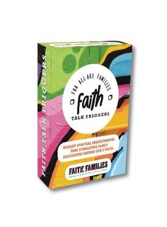 """$15.00  ** JUST LAUNCHED IN 2018! **   Want to have great God-centred conversations with your kids and teenagers?  It's easy with these Faith Talk Trigger Cards!      Fun """"would you rather"""" openers that engage teenagers      40 topics from Reputation to Forgiveness, Temptation to Peer Pressure      Great anytime: Dinner table, At the beach, Road trips  Keep the line of communication open and enjoy hearing your kids chew on these topics!  One pack - includes 40 cards!"""