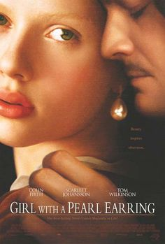 Girl with a Pearl Earring is a 2003 Drama, Romance film directed by Peter Webber and starring Scarlett Johansson, Colin Firth. Tom Wilkinson, Colin Firth, Great Films, Good Movies, Watch Movies, Scarlett Johansson, Love Movie, Movie Tv, Movie List