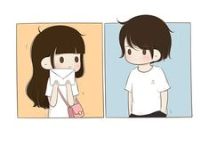 Love Cartoon Couple, Chibi Couple, Cute Love Cartoons, Cute Couple Art, Anime Love Couple, Cartoon Eyes, Sketch A Day, Cute Cartoon Wallpapers, Cute Illustration