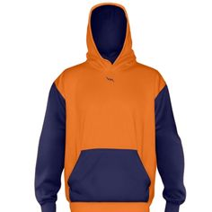 Orange+Ice+Hockey+Sweatshirts