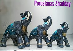 Elephant Figurines, Diy And Crafts, Elephant Stuff, Pigs, Elephants, Biscuit, Rave, Country, Plastering
