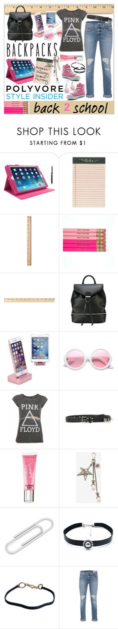 """Rule School : Cool Backpacks"" by calamity-jane-always ❤ liked on Polyvore featuring rooCASE, Rifle Paper Co, Up & Up, Alexander McQueen, ZeroUV, Floyd, Vetements, Beauty Rush, Cufflinks, Inc. and Child Of Wild"