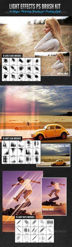 Light Effects Photoshop Brush Kit