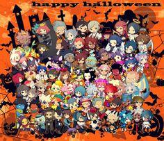 Inazuma eleven - Inazuma eleven go chibi Halloween