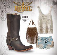 Una chica #Rudel merece tener un #Outfit como este...  #labotadelaguila #EstiloRudel #Vaquera