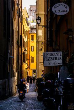 Street in Rome - Italy