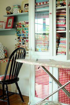 cuarto de costura sewing room