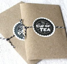 Giftbag You are just my bag of tea