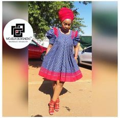 South African Dresses, African Fashion Skirts, African Dresses For Women, African Attire, Xhosa Attire, African Outfits, African Clothes, African Wear, Venda Traditional Attire