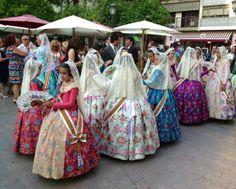 City trip à Valence - Falleras pequenas - Points de passage #valencia #falleras #pointsdepassage