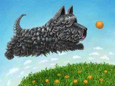 Маленькие Собаки, Цитаты О Собаках, Шотландские Терьеры, Собачье Искусство, Краска