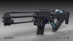 ArtStation - Destiny - The Taken King : Omolon Rifle, Matt Lichy