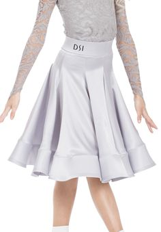 DSI Georgia Juvenile Ballroom Skirt 1080JB | Dancesport Fashion @ DanceShopper.com