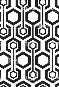 Seamless hexagon pattern royalty-free seamless hexagon pattern stock vector art & more images of Geometric Patterns, Graphic Patterns, Geometric Designs, Cool Patterns, Textures Patterns, Geometric Shapes, Geometric Tattoos, Hexagon Pattern, Pattern Design