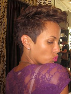 Don't sleep on Nicole Ari Parker's haircut.
