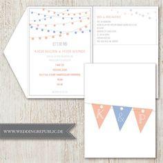 hochzeit einladung | wedding invitation | save the date | maritim, Einladungen
