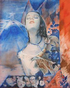 Pol Mara (1920-1998) - Le bateau de l'abondance, Huile sur toile, 1987 Pop Art, Mona Lisa, Auction, Artwork, Painting, Google, Bubble, Artists, Modern