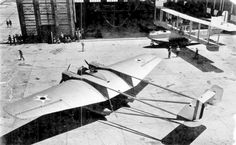 A 1921 photo of the sole example of the unusual Curtiss Model 24 CT torpedo plane being tested at Rockaway NAS. Abandoned & Little-Known Airfields: New York City, Queens